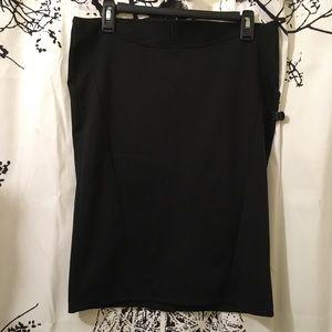 NWT Motherhood Maternity Black Pencil Skirt